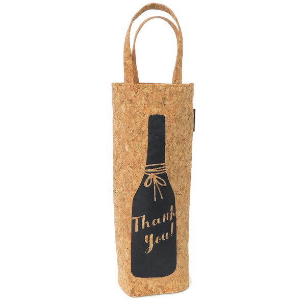 Thank You Cork Wine Tote