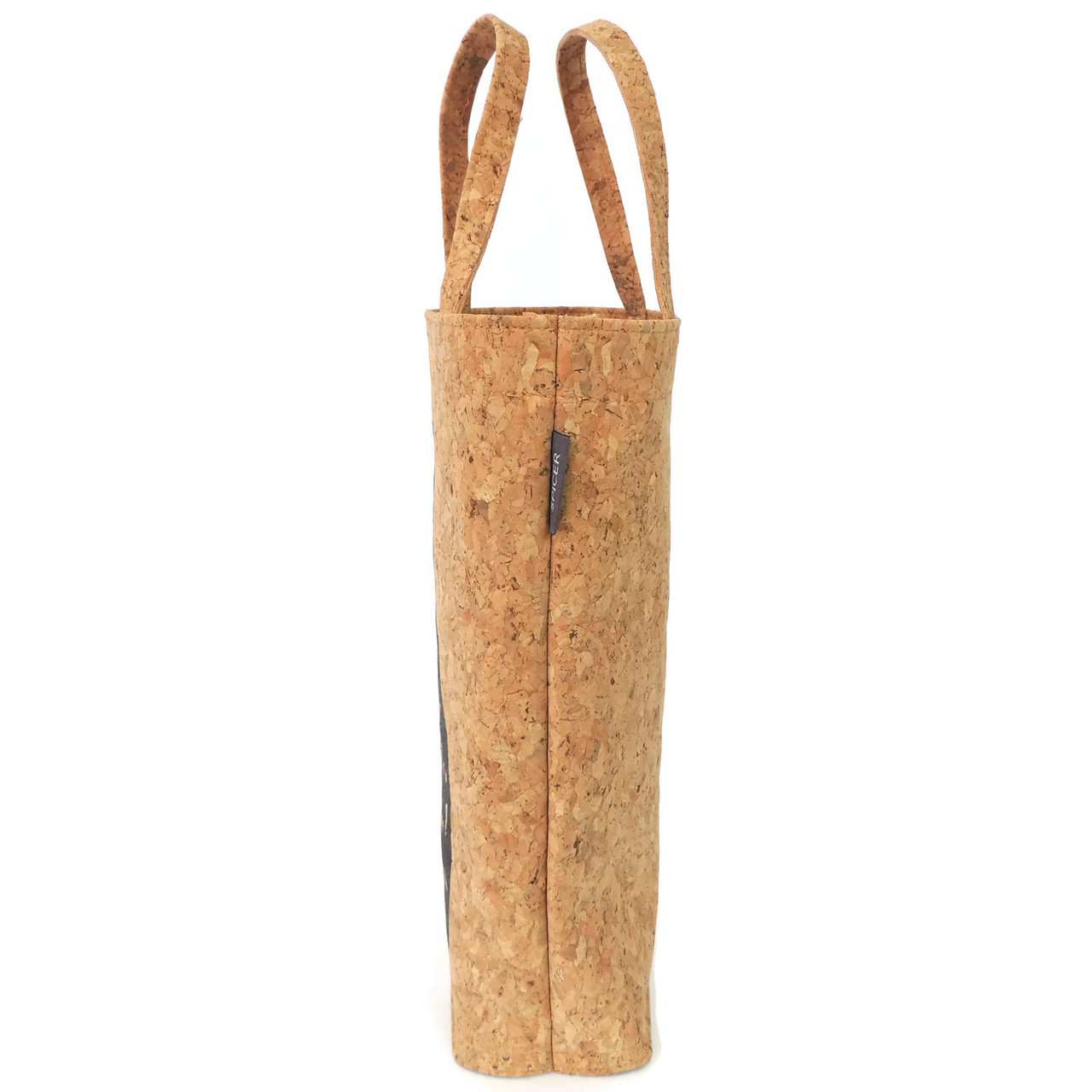 More Wine Please Cork Wine Tote