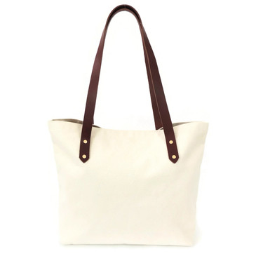 Natural Canvas Market Tote