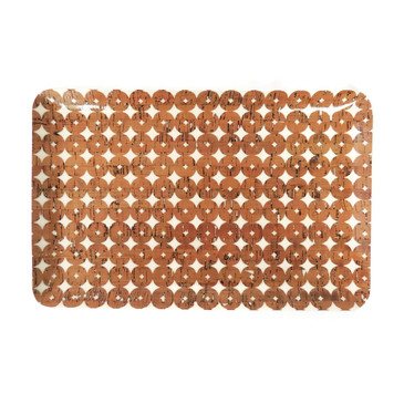 Classic Tray in Cork Dots