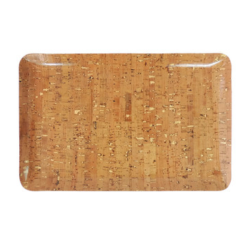 Classic Tray in Cork Dash Gold
