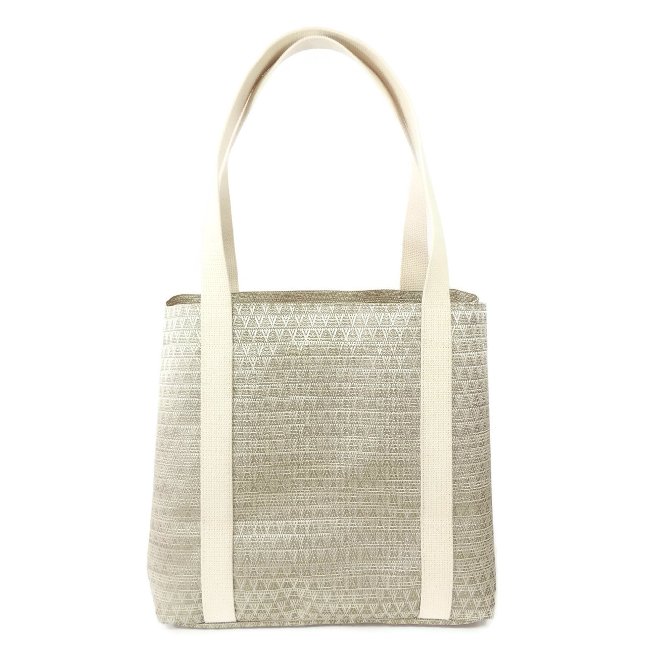 Beach Tote in Chevron
