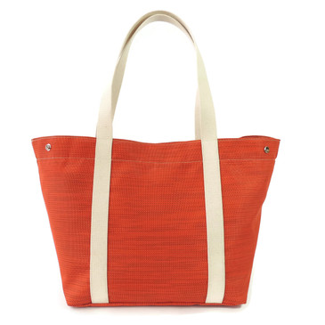 Beach Tote in Bonfire Orange