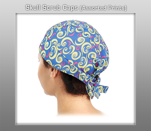Prestige Skull Scrub Caps (Assorted Prints)