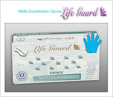 LIFE GUARD Examination Nitrile Gloves - Extra Soft - 100 Gloves / Box