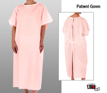 Patient Gown - Pink