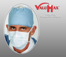 ValuMax Kaycel Surgical Caps ( Pack of 100 )