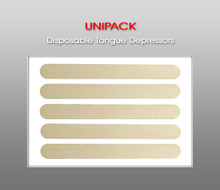UNIPACK Disposable Tongue Depressors