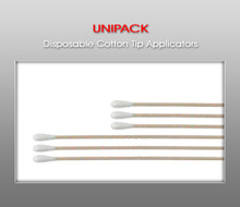 UNIPACK Disposable Cotton Tip Applicators
