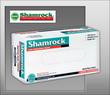 Shamrock Powdered Industrial Latex Gloves – Textured or Smooth - 61000 Series - 100 / BOX