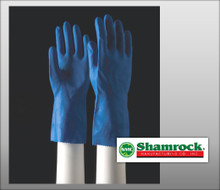"Shamrock Latex Canners Gloves Fully Textured –  12"" Cuff – Hand Specific - 86000 Series - 12 Pairs / Polybags"