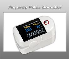 Prestige Fingertip Pulse Oximeter - White