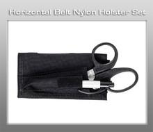 Prestige Horizontal Belt Nylon Holster Set