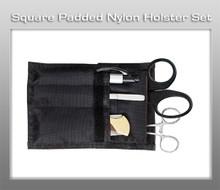 Prestige Square Padded Nylon Holster Set