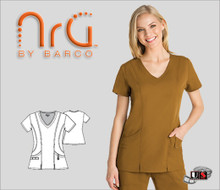 Barco NRG arcFlex™  2 Pocket Fashion V-Neck