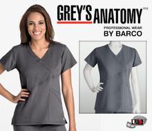 Grey's Anatomy™ arclux™ 3 Pocket Criss-Cross Mock Wrap