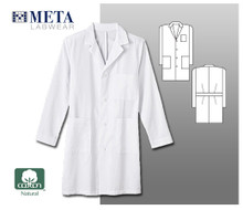 "Meta Labwear Men's 38"" Cotton Labcoat"