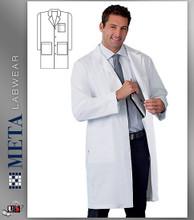 1963 META Labwear Men's 5-Pocket Twill Lab Coat