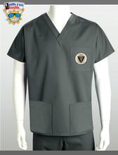 Uniform Studio Unisex V-Neck Top Veterinary Gold