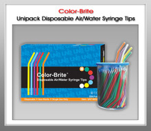 Color-Brite ® Disposable Air / Water Syringe Tips