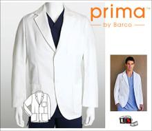Barco Prima Men's Consultation Lab Coat with Three Mitre Pockets