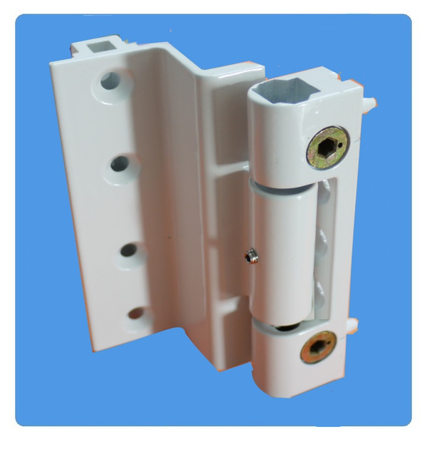 Challenger Rebated Butt Hinge For Upvc Doors In White