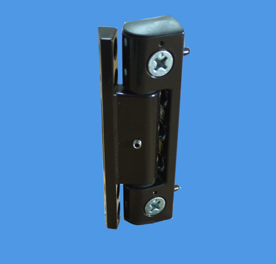 Neon adjustable butt hinge for upvc doors in brown for Adjustable hinges for exterior doors