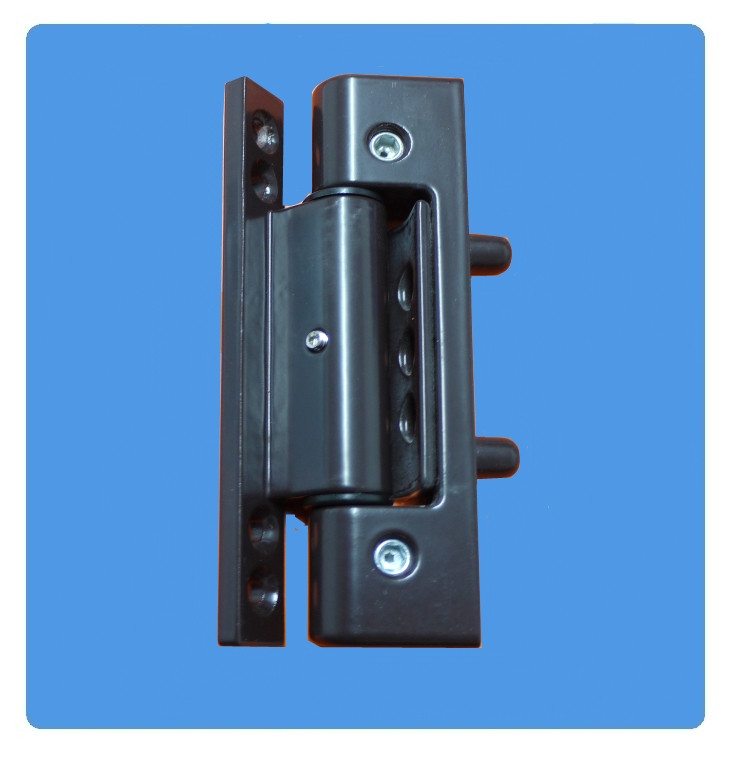Ocean butt hinge for upvc doors in brown for Brown upvc door