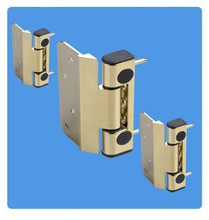 Challenger 3D Composite Hinge for Composite and Wooden Doors in White - Set of 3