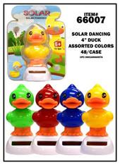 """4"""" Solar Dancing Duck"""