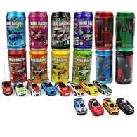 Radio Control Mini Racers With Soda Can Style Storage
