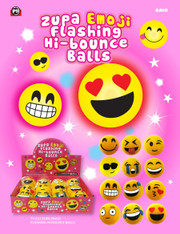 Zupa Emoji Flashing Hi Bounce Balls