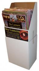 Sky Lanterns- Pre Packed 60pc Floor Display