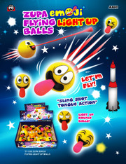 Emoji Tongue Light-Up Flying Balls