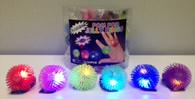 Flashing Pom-Pom Jelly Rings
