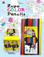 12 Piece Color Pencil Set