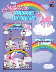 Mystical Unicorn Keychain With Light & Sound