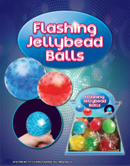 Flashing Jelly Bead Balls Solid Colors