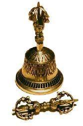 "Tibetan Bell & Dorje set 8"""