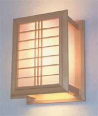 Saura Shoji Wall Lamp