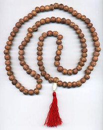 Light Speckled Bodhi Tree Mala