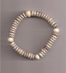Carved Bone Wrist bracelet