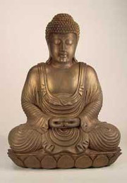 Lord Buddha, Meditation Mudra, Cast Resin