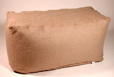 Bean Bag Ottoman - Hemp Rectangle