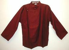 Tibetan raw cotton meditation Shirt, long sleeve
