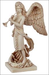ArchAngel Gabriel statue with Trumpet