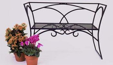 Arbor Garden Bench with back