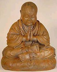 Namaste Statue