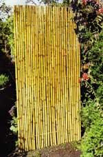 Iron Bamboo Panel Screen fence, 2 panels