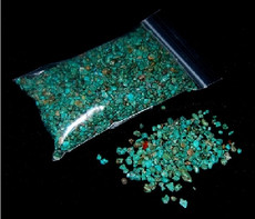 Seven Turquoise chips